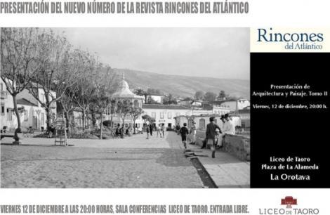 PRESENTACIÓN  REVISTA RINCONES DEL ATLÁNTICO
