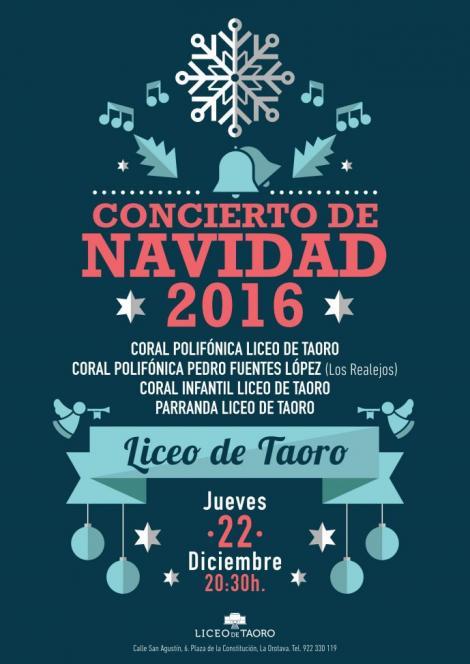Concierto de Navidad 2016