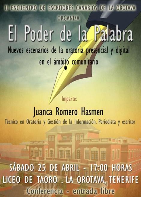 El poder de la palabra - Juanca Romero Hasmen