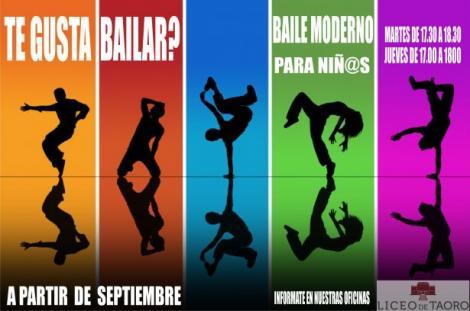 Baile Moderno para niñ@s