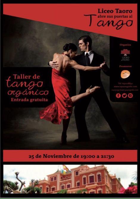 Taller de Tango Gratuito