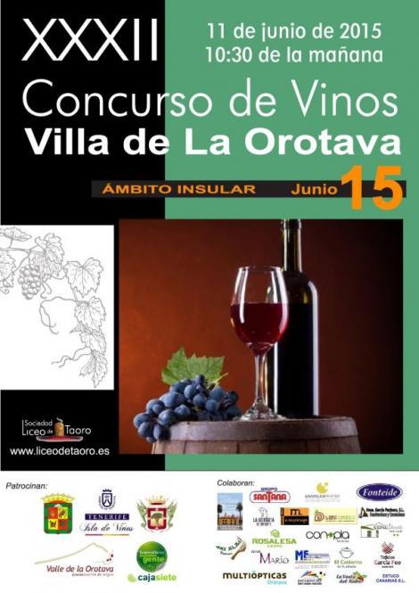 XXXII Concurso de Vinos