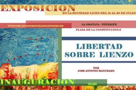 Exposición de Pinturas José Antonio Manchado