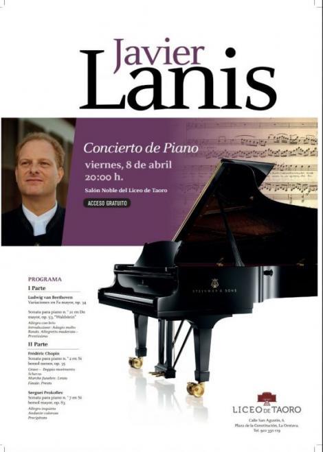 Concierto de piano - Javier Lanis