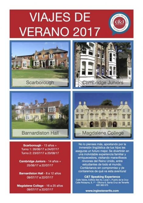 Jornada informativa Viajes Idiomas Verano 2017