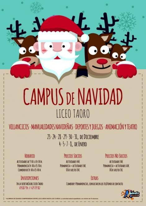 Campus de NAVIDAD Liceo de Taoro