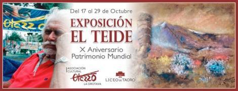 Exposición  EL TEIDE