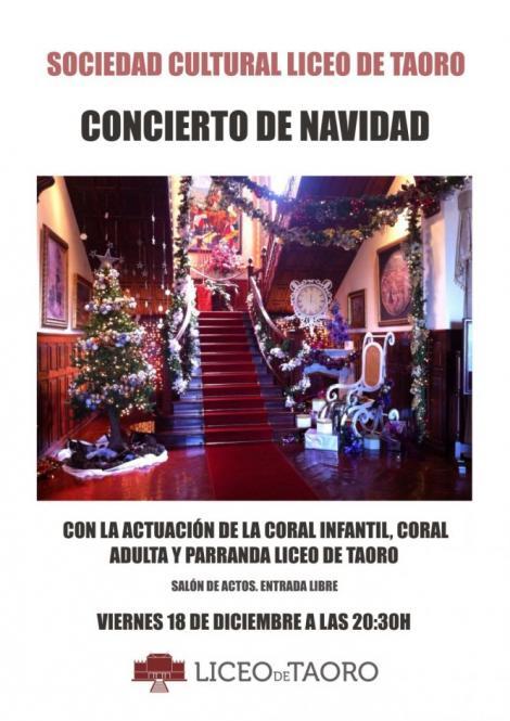 Concierto de Navidad Liceo de Taoro