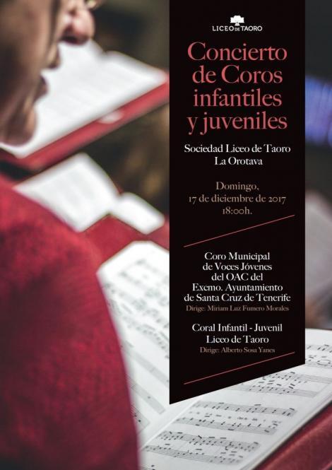 Concierto Coros Infantiles y Juveniles