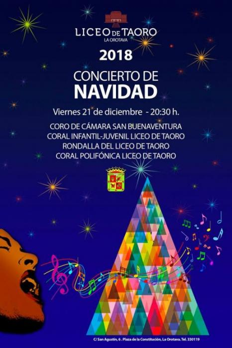 Concierto de Navidad 2018