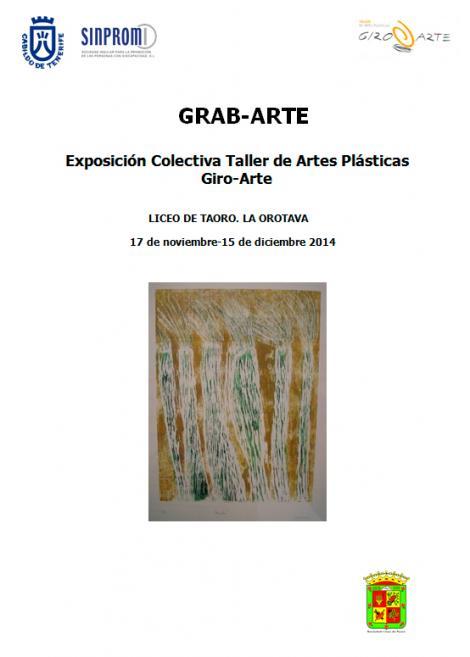 EXPOSICIÓN GRAB-ARTE SINPROMI 17 NOVIEMBRE 15 DICIEMBRE