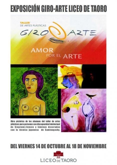 EXPOSICIÓN DE GIRO-ARTE. LICEO TAORO. LA OROTAVA.