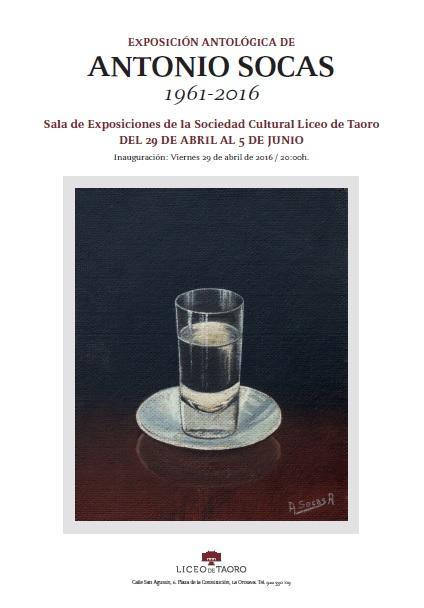 Exposición Antológica de Antonio Socas