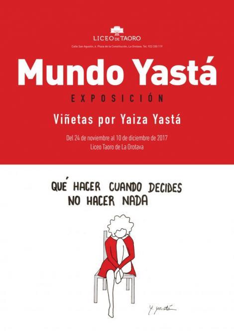 Mundo Yastá en el Liceo de Taoro