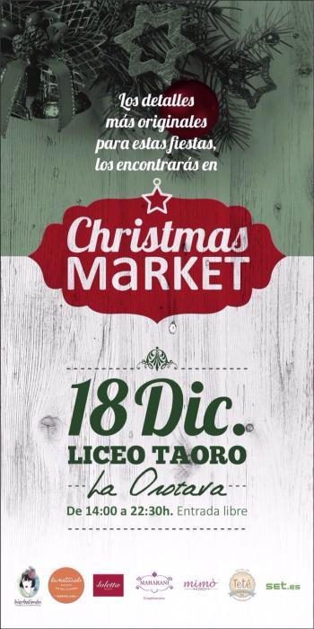 Christmas Market en el Liceo de Taoro