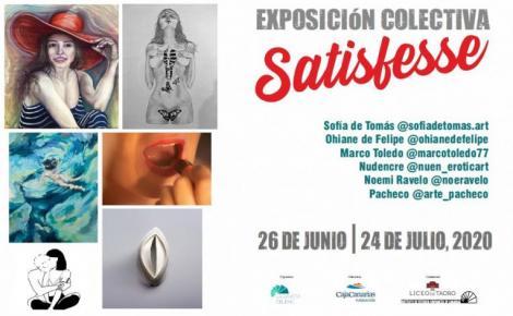 Exposición colectiva Satisfesse