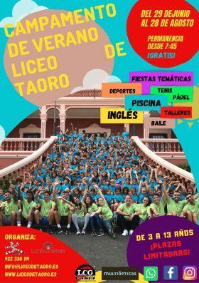 Campamento de Verano Liceo de Taoro 2020