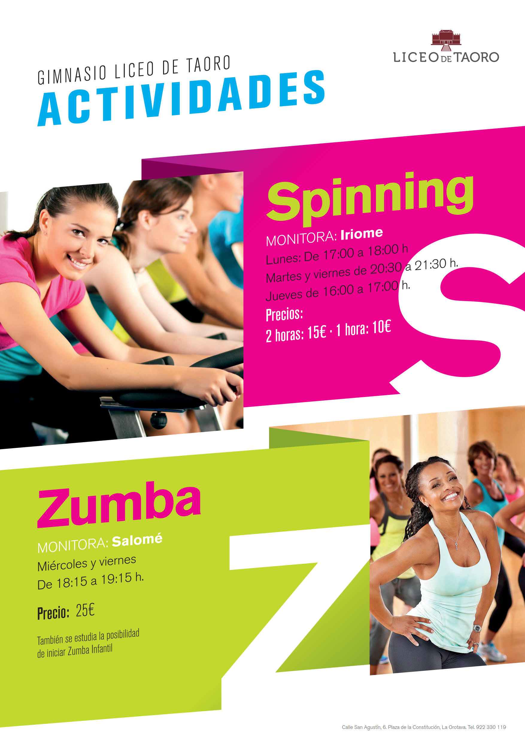 CARTEL SPINING ZUMBA 2017 1